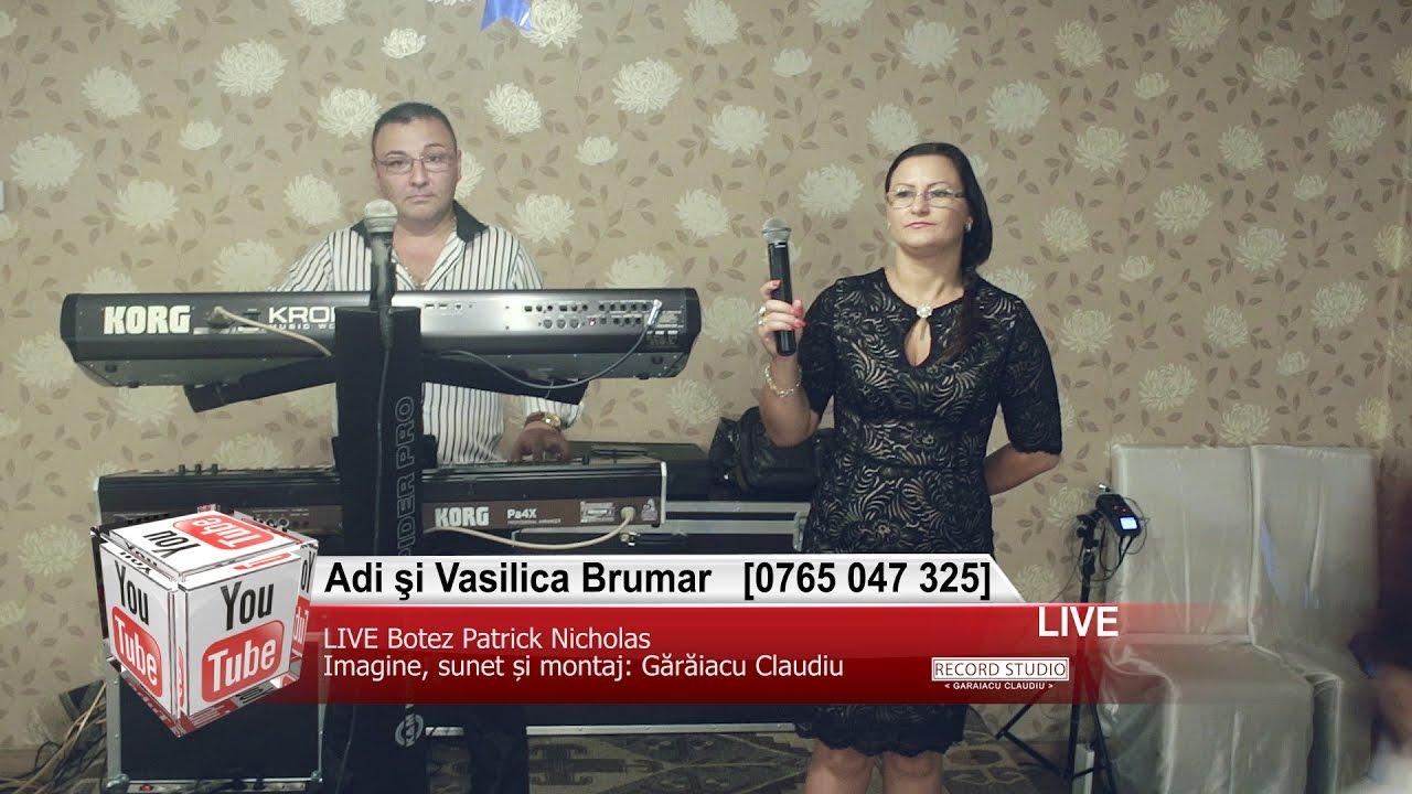 Adi si Vasilica Brumar | Muzica Lautareasca si Petrecere, Colaje HORA LIVE Botez Patrick Nicholas