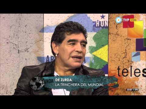 De zurda - #ChileBorroAEspaña - 18-06-14 (2 de 4)