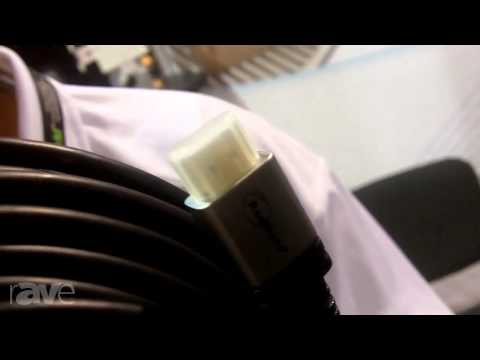 CEDIA 2013: TechTent Showcases its HDMI Cable with RedMere