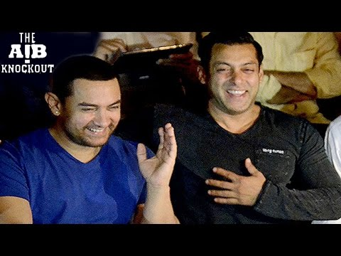 AIB KNOCKOUT ROAST new video ft Aamir Khan and Salman Khan RELEASED