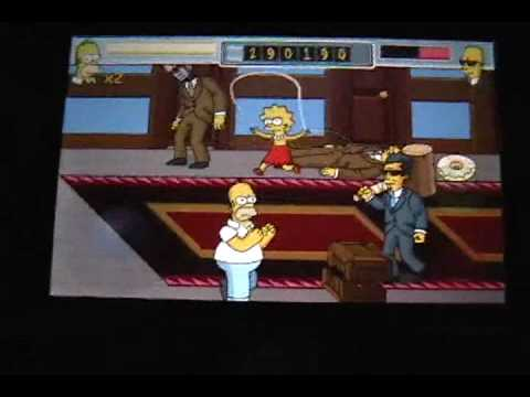 Simpsons Arcade Iphone Ipod Touch Gameplay