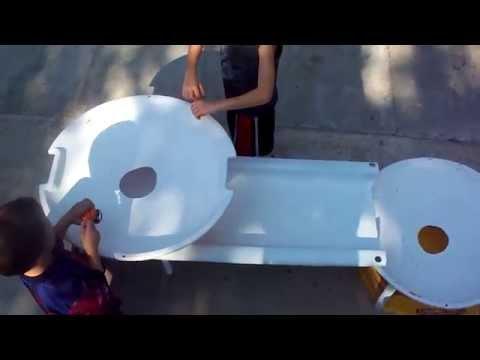 Beyblade Battle Quadruple Decker video