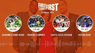 First Things First Audio Podcast (10.4.19)Cris Carter, Nick Wright, Jenna Wolfe | FIRST THINGS FIRST