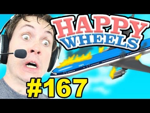 Happy Wheels - PLANE CRASH