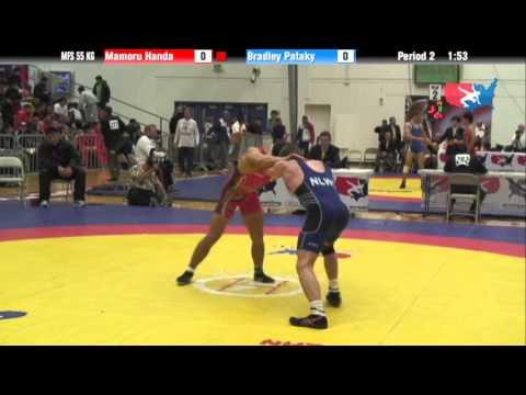 55 KG Round 1 - Bradley Patakay NLWC vs Mamoru Handa JPN