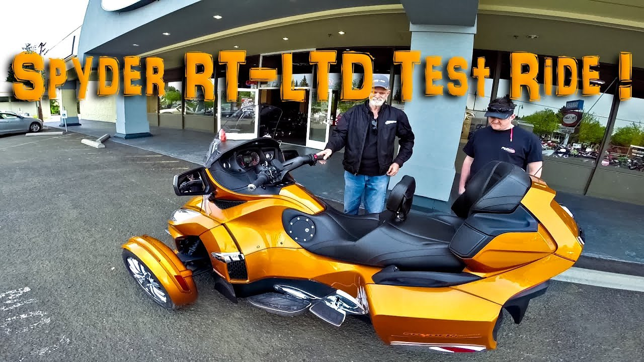 2014 spyder rt limited cognac test ride testrides youtube