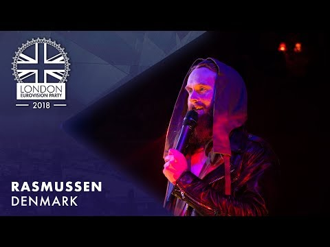 Rasmussen - Higher Ground - DENMARK | LIVE | OFFICIAL | 2018 London Eurovision Party