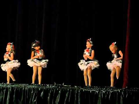 Naomi's first dance recital!!!