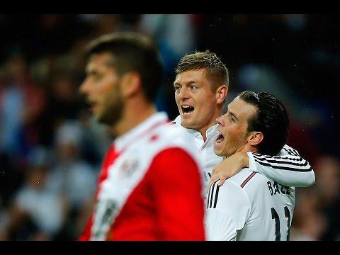 Toni Kroos Fantastic First Goal - Real Madrid 5 vs 1 Rayo Vallecano 08/11/2014  Highlights