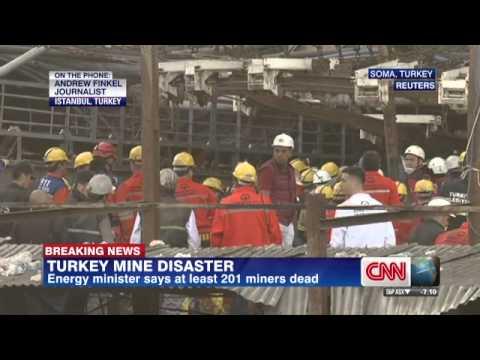 Turkish mine blast