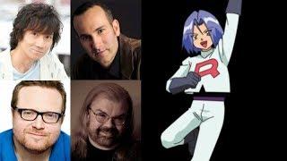 Anime Voice Comparison - James (Pokemon)