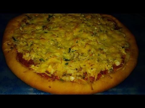 Рыбная пицца. Минимум продуктов - превосходный результат!!!