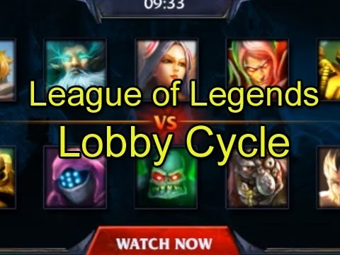 League of Legends Lobby Cycle by Wowcrendor (LoL Machinima)