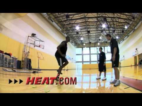 Chris Bosh - Miami Heat Workout Video #1 Video