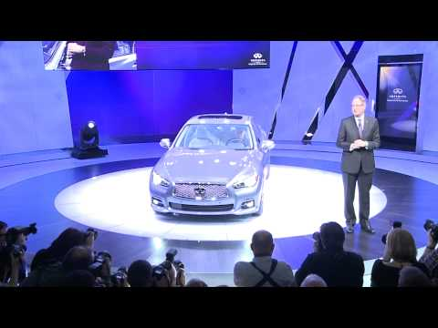 Highlights of The All-New Infiniti Q50 Revealed at NAIAS