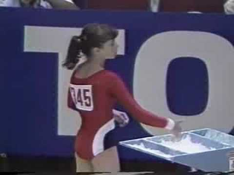 Olga Bicherova - 1985 Universiade in Kobe - VT