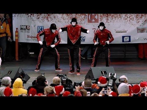 Jabbawockeez At Las Vegas Santa Run 2013 video