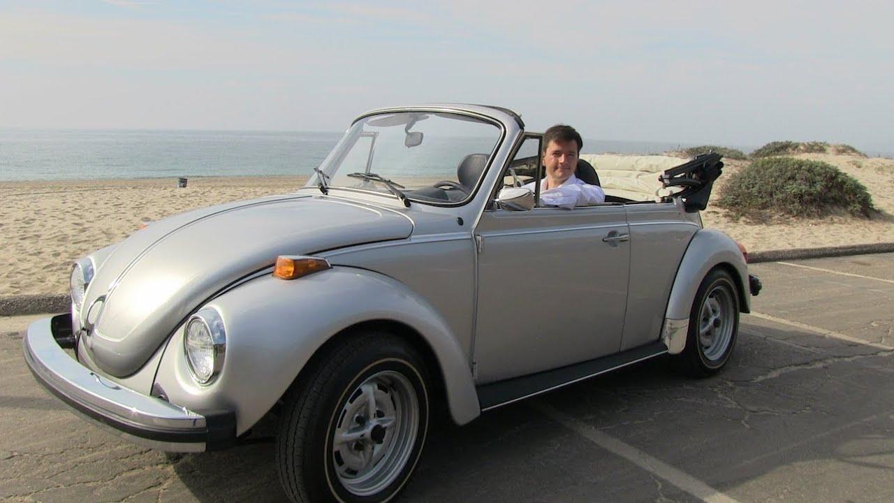 Vw Bug Convertible >> Classics Revealed: The Original Volkswagen Beetle Convertible - YouTube