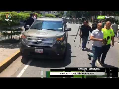 GNB Impide paso de la Fiscal Luisa Ortega Díaz al Ministerio Publico