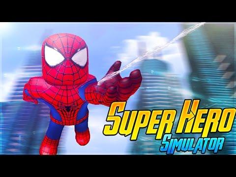 ROBLOX Adventure - SUPERHERO SIMULATOR IN ROBLOX!!!