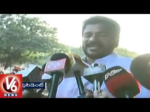 Congress Leader Revanth Reddy Speaks To Media After IT Investigation, Slams KCR | Hyderabad | V6