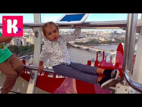 ВЛОГ Белки едят наши орешки в Лондоне Вызываем Королеву гулять Мороженое у London Eye и ресторан