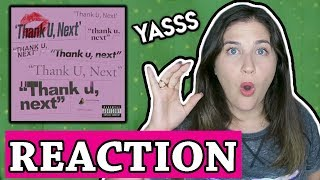 Ariana Grande - thank u, next (audio) | REACTION