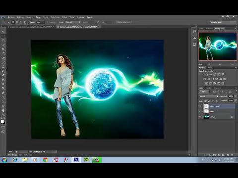 tutorial fotomontajes, recorte profesional y cambiar fondo en photoshop cs6