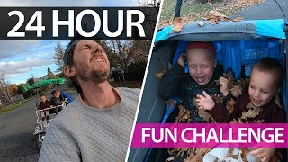1 x big bus + 2 keen toddlers + enthusiastic/tired parents = family fun! Family vlog | Ep27