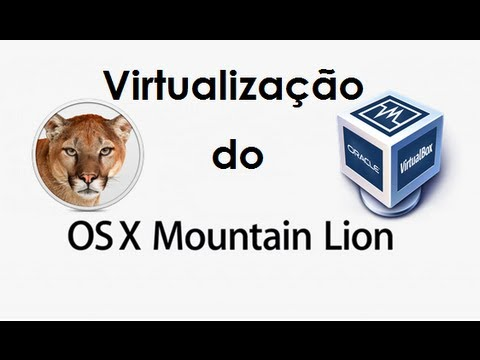 Como Instalar o MAC OS X Mountain Lion na Virtualbox Intel ( iatkos)