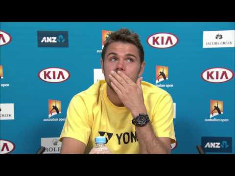 Stan Wawrinka press conference (QF) - Australian Open 2015
