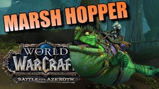 How to get the Frog Mount aka Marsh Hopper (BfA Patch 8.1)