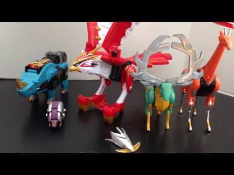 Review: Power Rangers Wild Force Isis Megazord