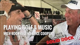 Malaska Golf // Alice Cooper Talks Golf, Dedication and Rock n Roll