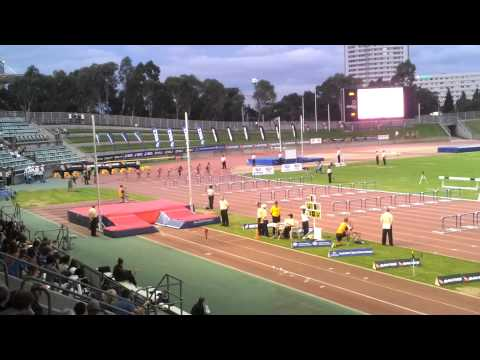 Sally Pearson 12.66 100mH Sydney Track Classic 2012