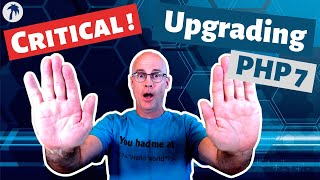 Critical programming issues preventing a PHP 7 upgrade
