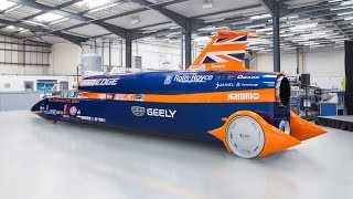GEELY - BLOODHOUND's New Lead Partner
