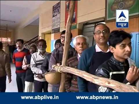 Delhi Polls: First voter on Mehrauli Assembly seat
