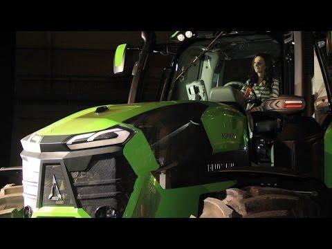 Deutz Fahr Agroshow 2014 + new Deutz Fahr Agrotron 9340 TTV