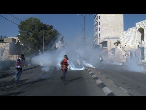 Fresh clashes in Bethlehem amid Palestinian 'revolution' calls