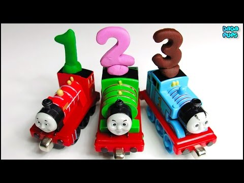 Learn to count 1-20  with Thomas & Friends| Numbers 1-20| Cartoon for Kids |Thomas Play Doh