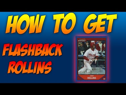 MLB 16 The Show Flashback Reviews and Tutorial: 96 Jimmy Rollins