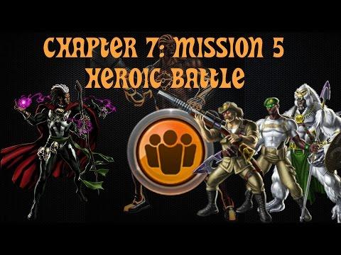 Marvel Avengers Alliance Season 2: Chapter 7, Mission 5 Heroic Battle