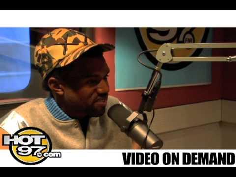 Hot 97-Angie Martinez Interviews Kanye West