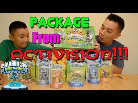 Package From Activision - Skylanders Swap Force!!!