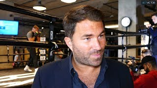 Eddie Hearn: EVERYONE wants to be on KSI vs LOGAN PAUL 2 undercard