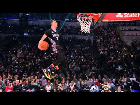 Zach Lavine Goes Behind His Back: 2015 Sprite Slam-dunk Contest video