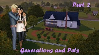Let's Play the Sims 3 Generations and Pets Part 2: Toddlers and Trotting
