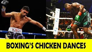 """20 EPIC """"CHICKEN DANCES"""" IN BOXING 2018"""