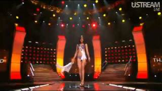 Miss Thailand - Fonthip : Miss Universe 2010 Preliminary Competition